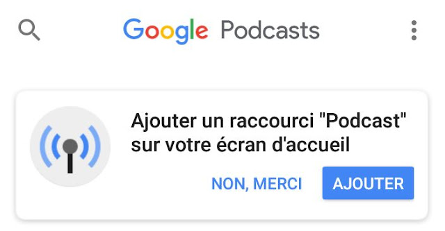 Google Podcasts pour Android bientôt sur Google Play