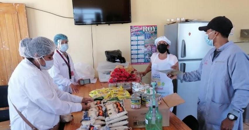 Qali Warma supervisa entrega alimentos a escolares de Tumbes bajo medidas de bioseguridad