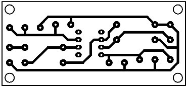 Printed Circuit Active Impedance Converter #1