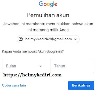 akun gmail yang lupa password 5