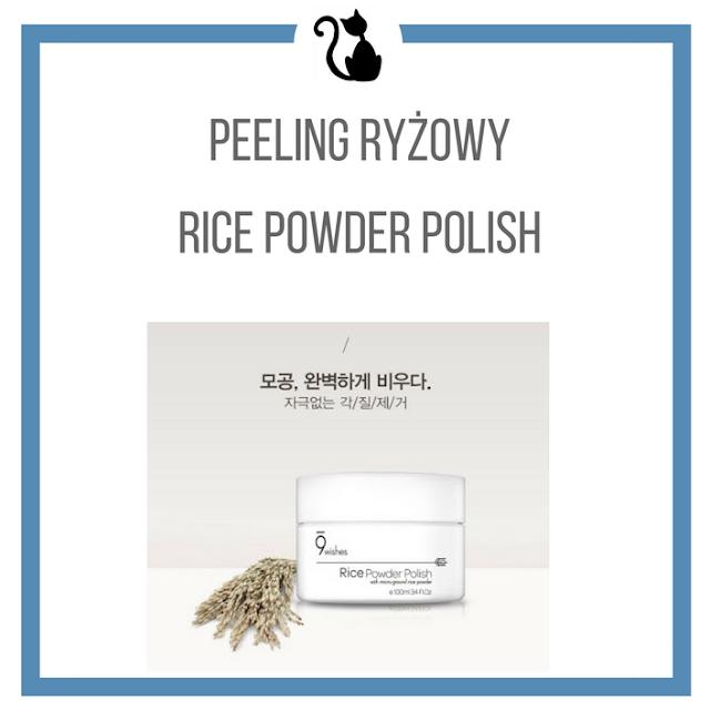 Peeling ryżowy Rice Powder Polish