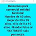 PERÚ: Para COMERCIAL de BANCO se busca: HOMBRE de 60 años, MUJER de 30 a 35 años y NIÑA de 8 a 10 años