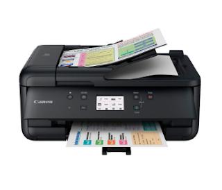 Canon PIXMA TR7520 Printer Setup and Driver Download