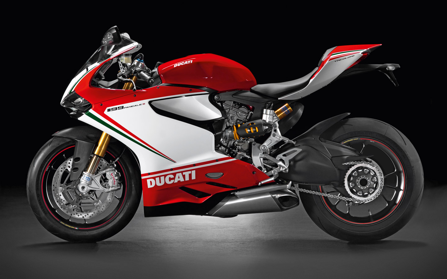 racing caf ducati 1199 panigale s tricolore 2012. Black Bedroom Furniture Sets. Home Design Ideas