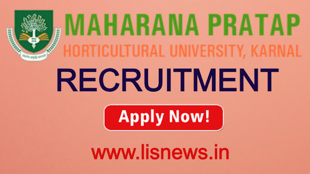 Library Assistant at Maharana Pratap Horticultural University, Karnal