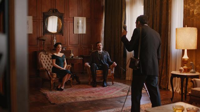 Lígia e Augusto casal feliz em frente as câmeras, mas histórico de violência doméstica
