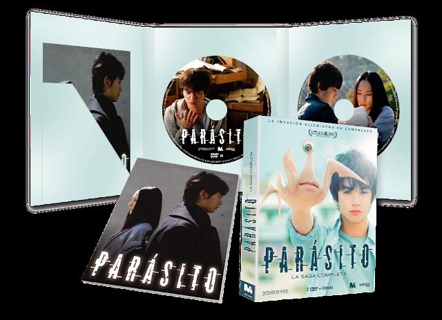 A la venta 'Parásito' en edición Digipack DVD y Blu-ray