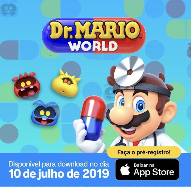 Dr. Mario World chega ao iOS em 10 de julho