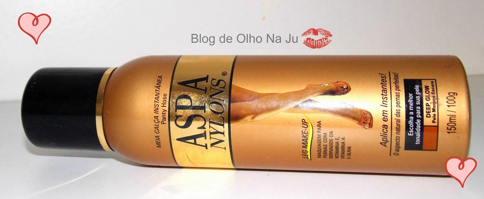 dbc478f84 De Olho Na Ju  Produto Aprovado  Meia Calça Instantânea - Aspa Nylons