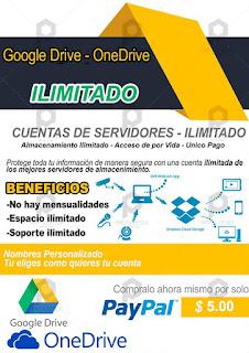 Google Drive Ilimitada