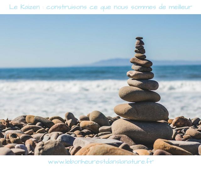 Kaizen développement personnel meilleure version de nous même