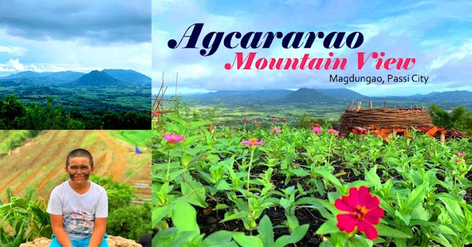 Agcararao Mountain View, newest tourist destination in Passi City