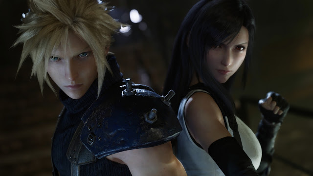 pareja Final Fantasy 7 Remake