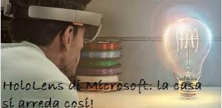 HoloLens di Microsoft