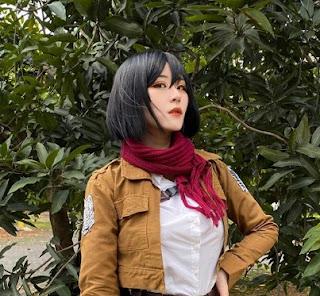 biodata profil dan semua tentang larissa rochefort si cosplayer cantik