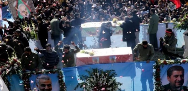 Qasem Soleimani's funeral delayed after deadly stampede