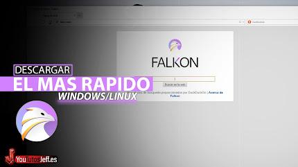 El Navegador mas Rápido para PC, Descargar Falkon Browser Ultima Version