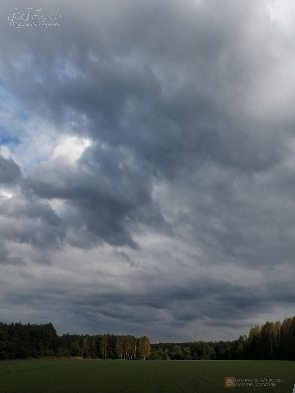 Jesienne chmury znów pędzi wiatr...