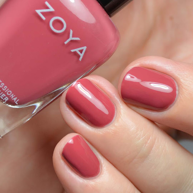 terracotta creme nail polish