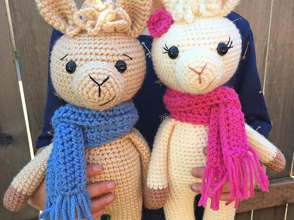 Amigurumi Llama - A Free Crochet Pattern