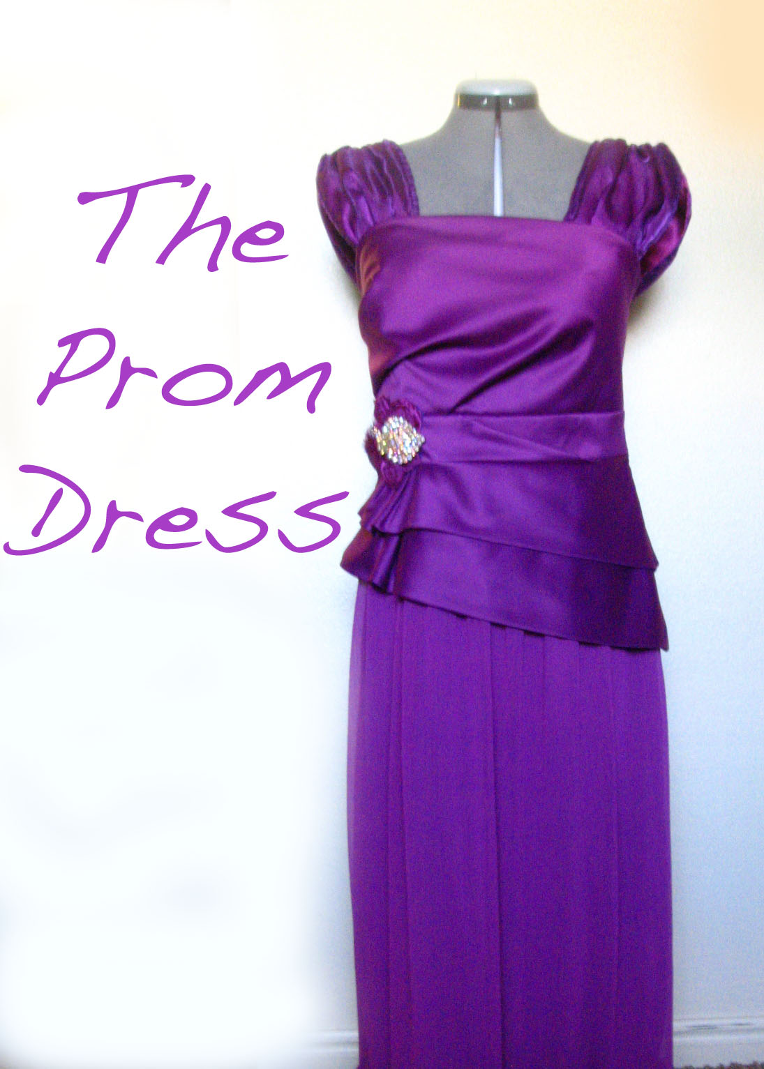 The Prom Dress (a mini tutorial) - Shwin and Shwin