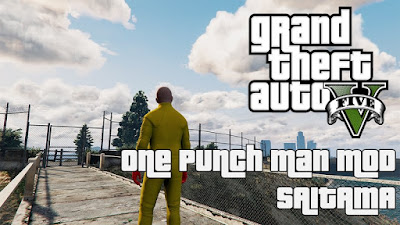 GTA V One Punch Man mod