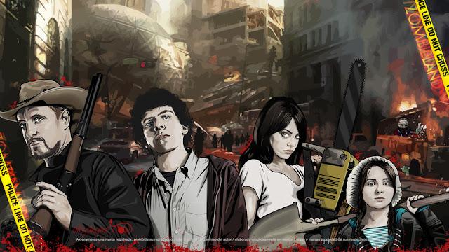 Zombieland (artwork di akyanyme)