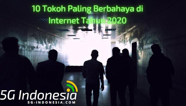 10 Tokoh Paling Berbahaya di Internet Tahun 2020