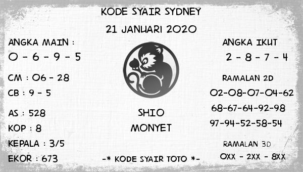 Kode Syair Sydney