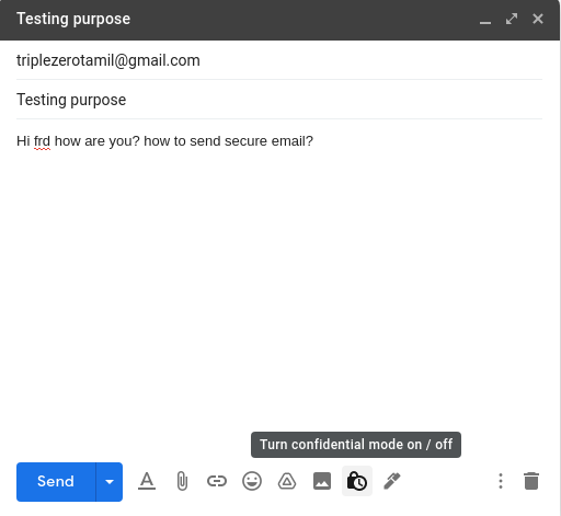 How to send secure mail - confidential emails