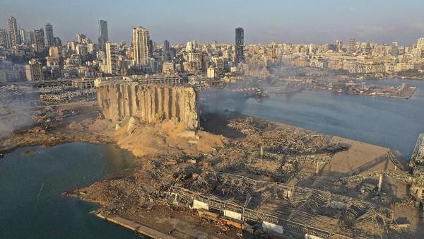 100 Orang Lebih Tewas Akibat Ledakan di Lebanon, Tim SAR Terus Bekerja