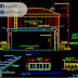 مخطط مشروع خزان بسعة 100 و 150 متر مكعب اوتوكاد dwg