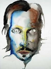 Vincent Gallo, pintura de Marilyn Manson.
