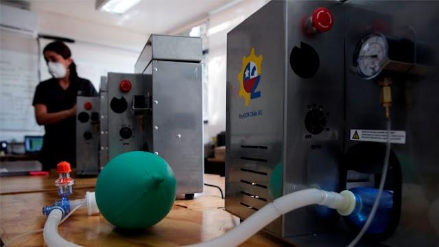 Innovadores nacionales presentan prototipos de ventiladores mecánicos para construir en Chile y postulan a fondo Corfo