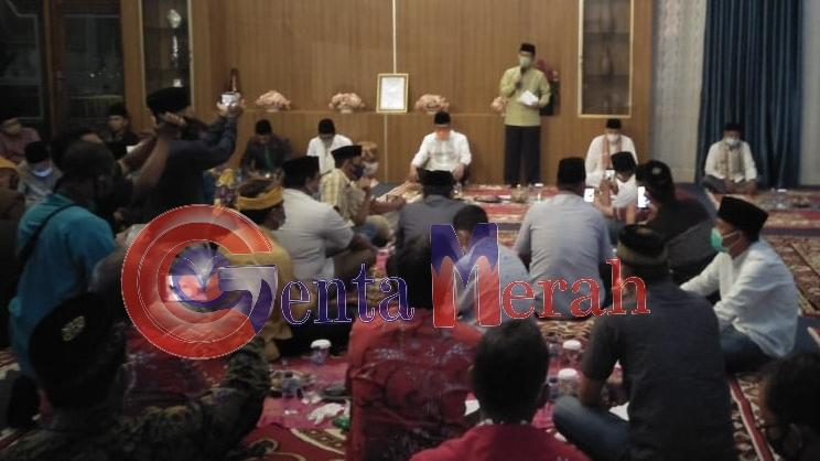 Silaturahmi Bersama Wartawan, Bupati Lampura Mengaku Tak Alergi Dikritik