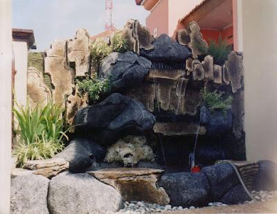 Tukang Taman Relief Tebing