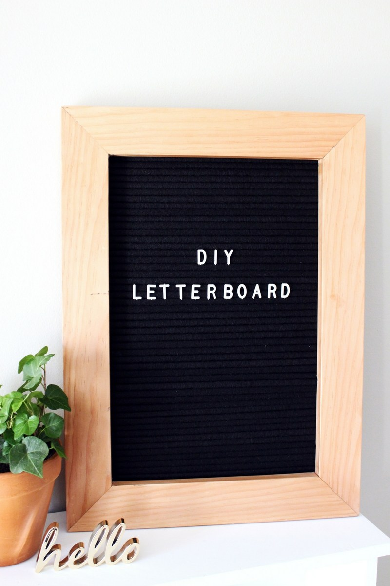 10 DIY Letter Board Tutorials