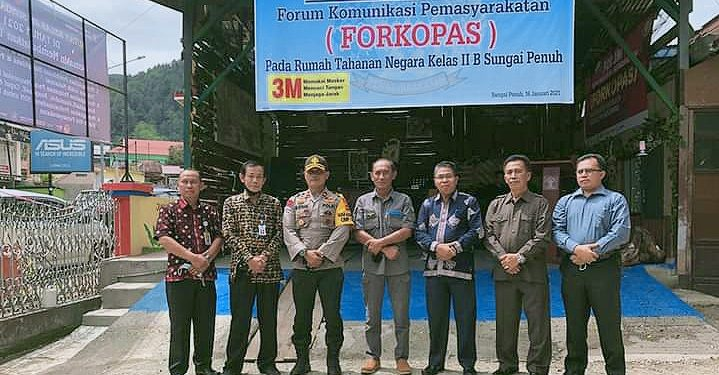Mewakili Bupati Kerinci, Asisten Satu Hadiri Launching FORKOPAS Rutan Sungai Penuh