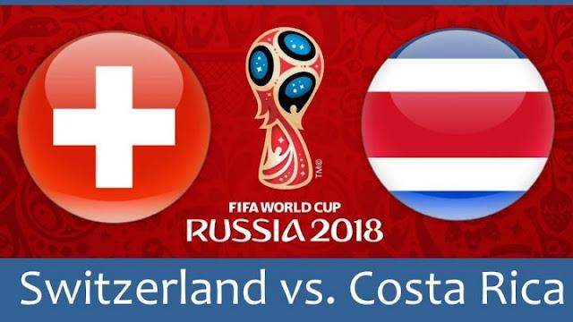 Switzerland vs Costa Rica Full Match Replay 27 June 2018