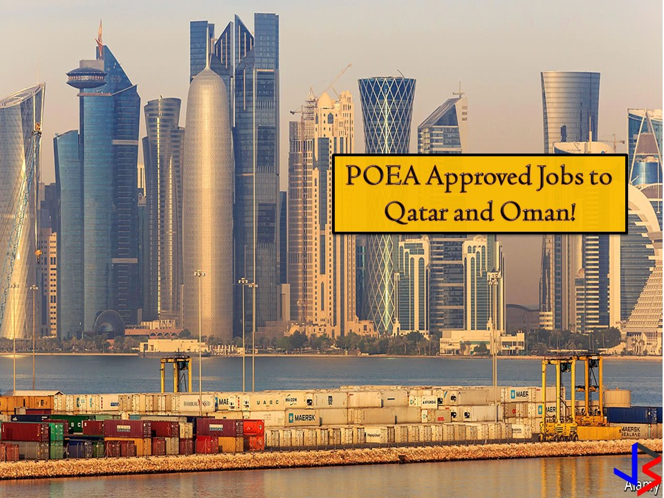 The following are jobs order approved by the Philippine Overseas Employment Administration (POEA) to Qatar and Oman. Both countries are located in the Middle East and consistent in the list of Top 10 Destinations of OFWs. Oman is looking for the following; hairdressers, hairstylist, general beautician, housemaid, pastry makers, nurses, and many others. Qatar, on the other hand, is looking for technicians, household service workers, waiter/waitress, general worker, carpenter, engineer, foreman, mason, etc. See below for the complete list.  Jbsolis.net is NOT a recruitment agency and does NOT process nor accept applications for jobs abroad. All information in this article is taken from the website of POEA — www.poea.gov.ph for general purposes only. Interested applicant may double-check the job orders as well as the licensed of the hiring recruitment agencies in POEA website to erase the doubt and make sure everything is legal.