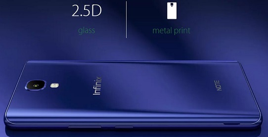 Infinix note 4 review design