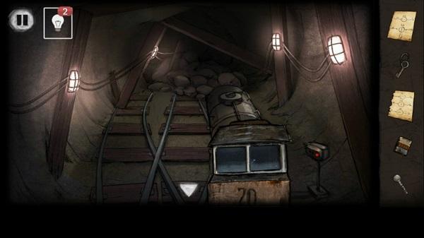 состав состыкован в игре выход из заброшенной шахты