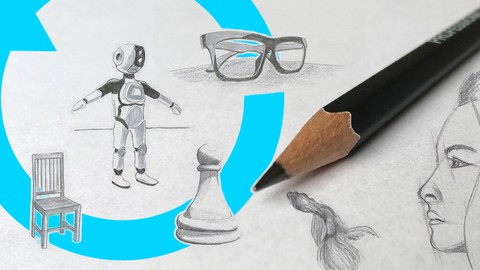 Basic Drawing Skills & Sketching Exercises