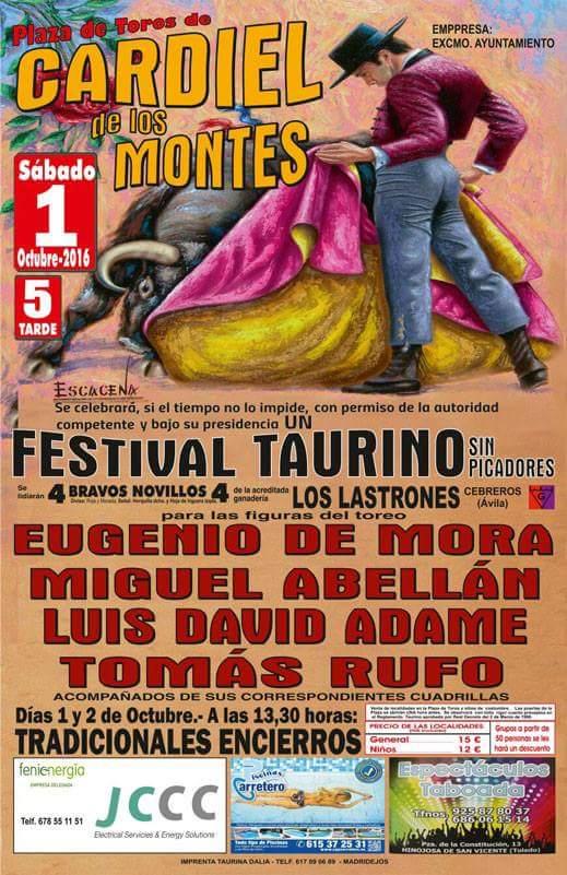 Cardiel De Los Montes Fiestas Octubre 2016 Toledo