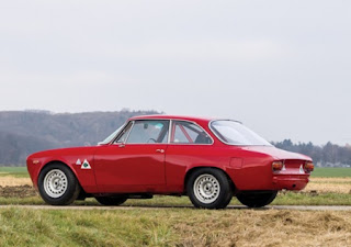1965 Alfa Romeo Giulia Sprint GTA Side Left