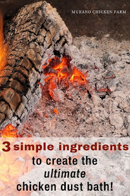 3 ingredient dust bath recipes for chickens