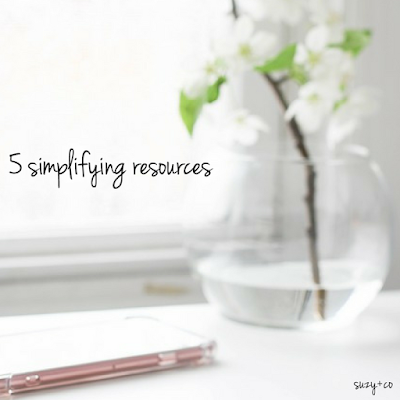 5 simplifying resources
