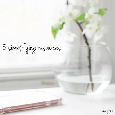 5 simplifying resources