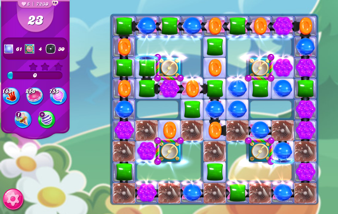 Candy Crush Saga level 7230