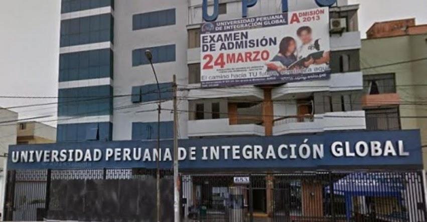 SUNEDU cierra la Universidad Peruana de Integración Global - UPIG, la segunda por falta de licenciamiento - www.sunedu.gob.pe